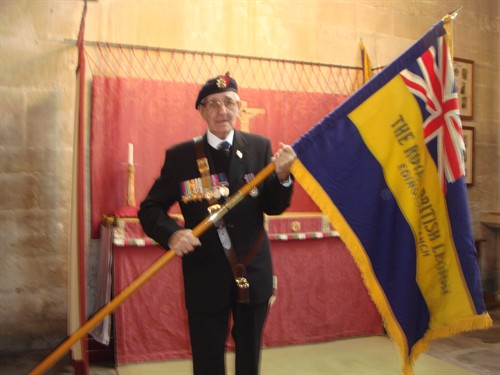 Branch Standard Bearer Bill Dobson