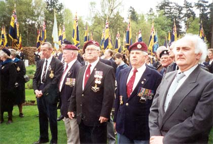 ANZAC Day Service April 2000