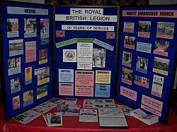 90 Years of RBL display