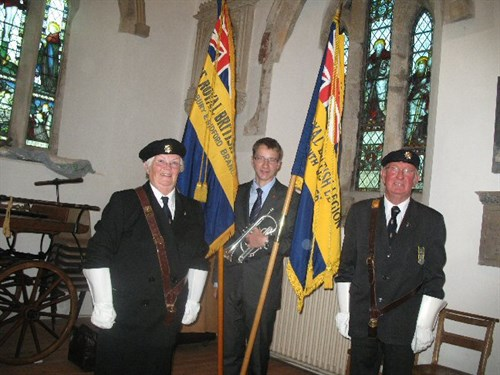 Standard Bearers And Buglar .resized JPG