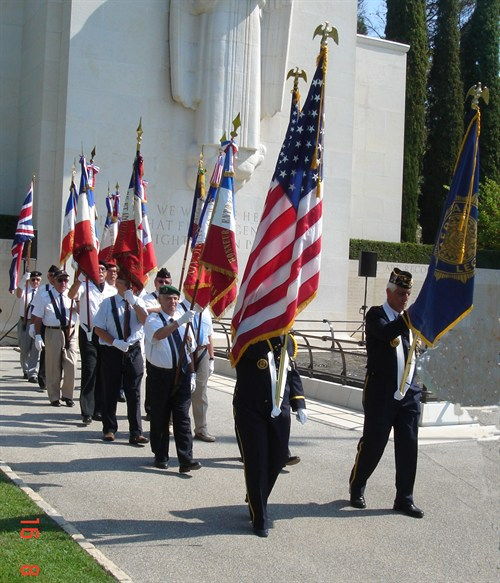Standard Bearers Departing