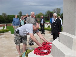 Wreath Laying Fromelles