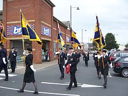 Standard Bearers ceremony -2