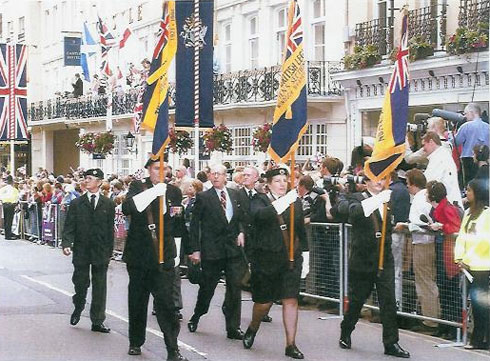 Dedworth Standards on parade