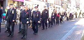 Remembrance parade 2012