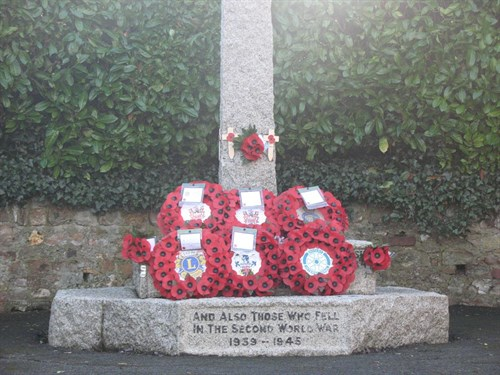 War Memorial Plinth 2012