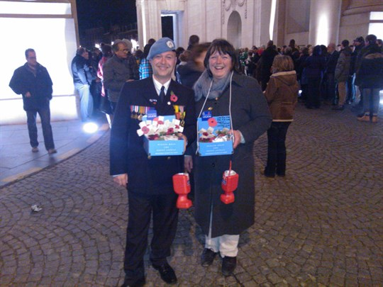 Menin Gate Branch Poppy Collectors