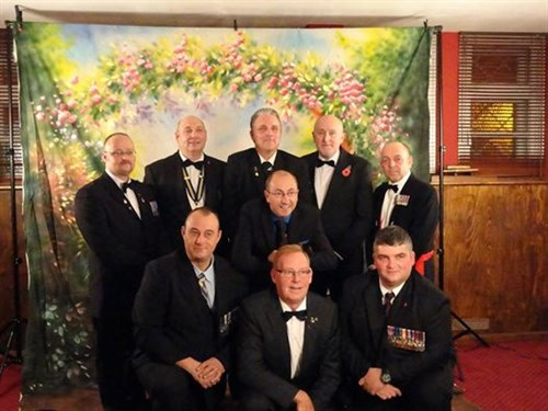 Legion Dinner Night Gents 2013