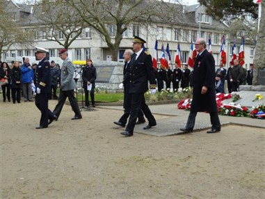 72Nd Anniversary Operation Chariot 2014 The British Ambassador And Vips Having Laid Wreaths And Flowers At The Merorial