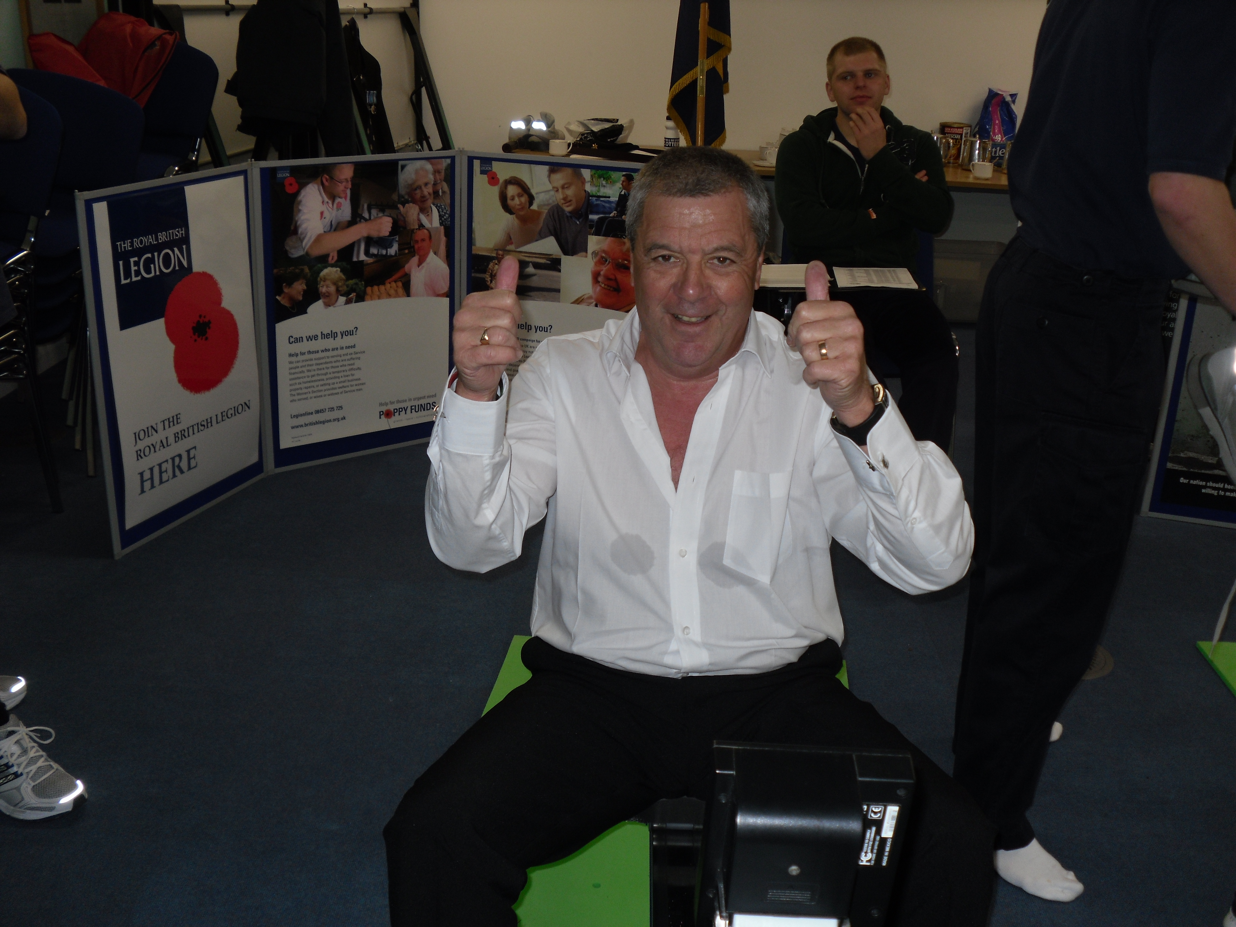 HMS Raleigh 24 hour Row Challenge - Torpoint Branch - The