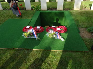 Burial Services Of 3 Soldiers Of 2Nd WW In The Caen Area 049
