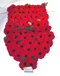 Knitted Poppy Pattern For British Legion : 1st Chesterton Rainbows (1) - Bicester and District Branch - The Royal Britis...