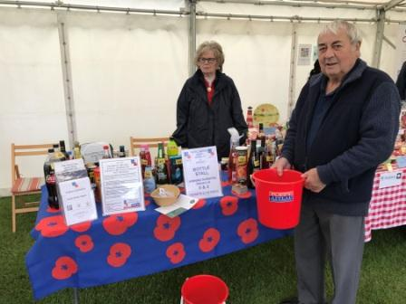 St George's Day stall at the Cricket ground 23rd April 2017
