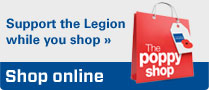Supporthe Legion while you shop online at www.poppyshop.org.uk