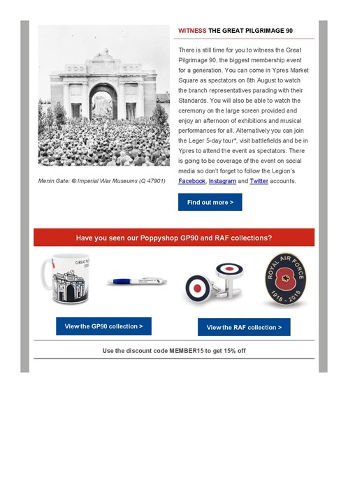 Membership E -newsletter July 2018 - Members And Branches Commemorating T ...-page -004