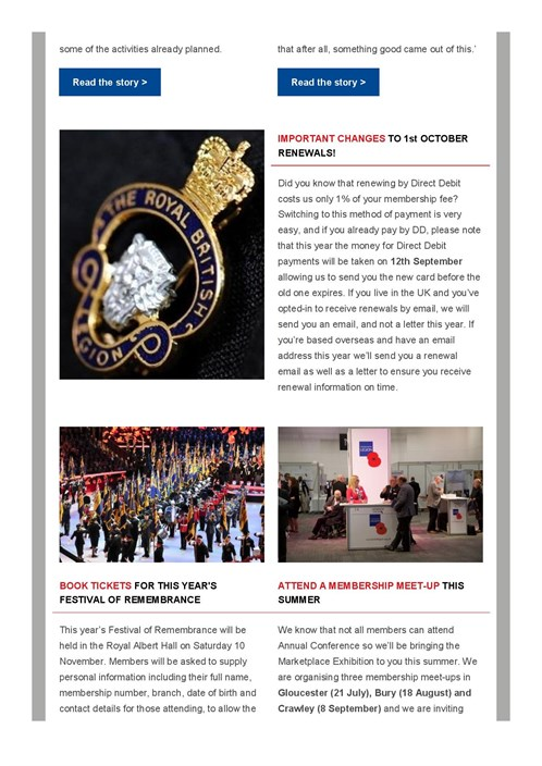 Membership E -newsletter July 2018 - Members And Branches Commemorating T ...-page -002