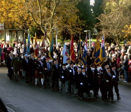 Remembrance Parade York